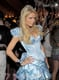 Paris Hilton showed off her mini ball gown on Halloween.
