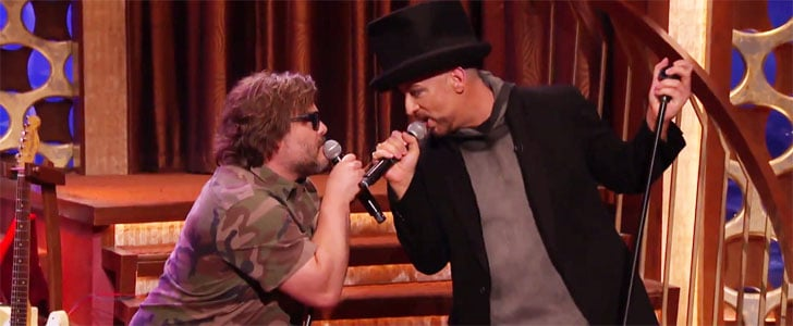 "Jack Black and Boy George Have a Viral Moment Singing ""Hello, I Love You"""