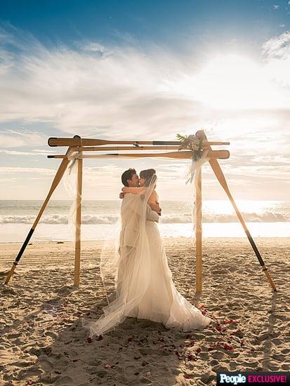 Photos (and Details!) from CSI Star Melinda Clarke's Romantic Seaside Wedding