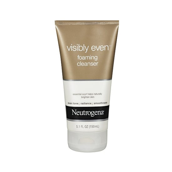 Brightening your complexion starts with the cleansing step. Neutrogena Visibly Even Foaming Cleanser ($7) exfoliates skin to help all your treatments penetrate more effectively.