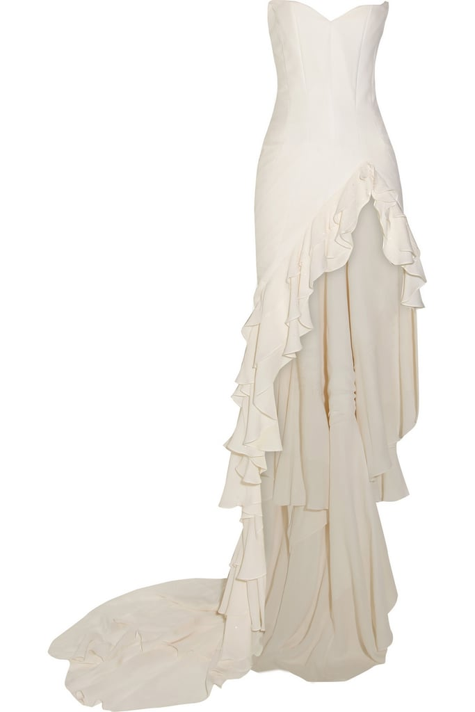 Maria Grachvogel Satin-Crepe Gown