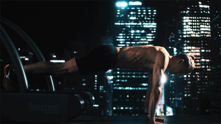 The Gym-Rat-Turned-Yogi