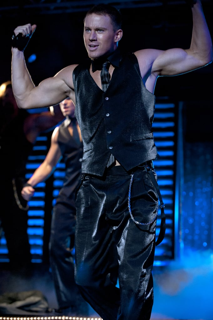 Channing flexed his muscles for 2012's Magic Mike.