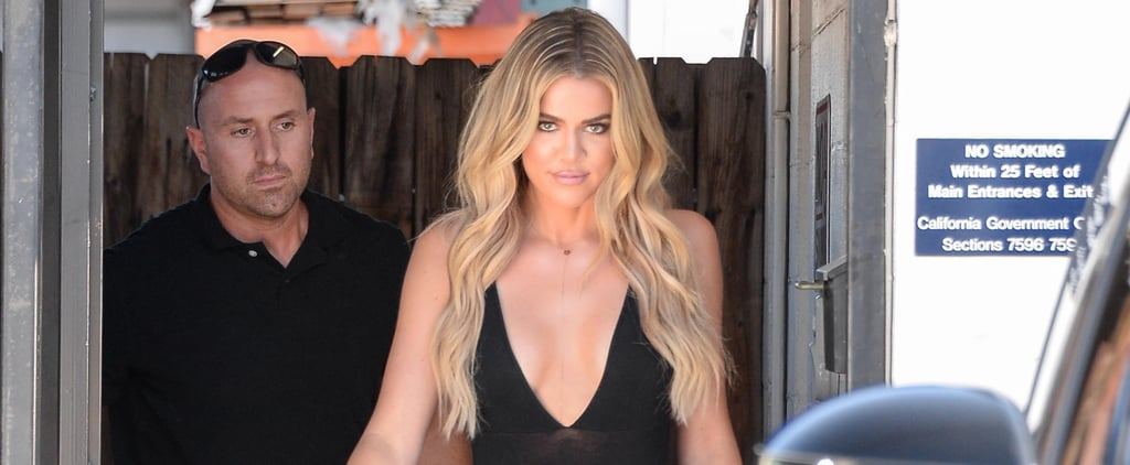Khloé Kardashian Steps Out in LA After Her Heated Twitter Exchange With Chloë Grace Moretz