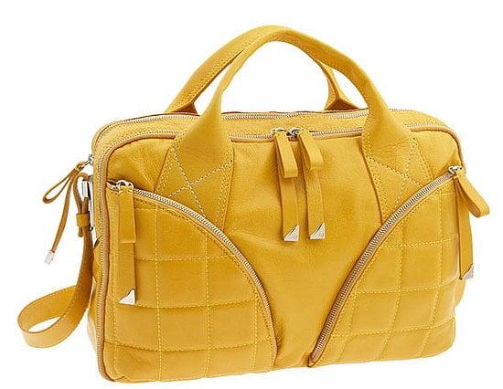 Francesco Biasia Yummy Yellow Laptop Bag