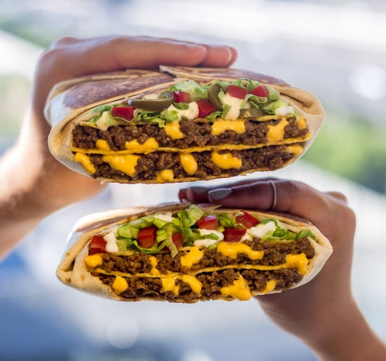 Taco Bell's New Triple Double Crunchwrap