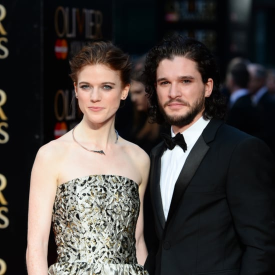 Rose Leslie and Kit Harington's Style at the Olivier Awards