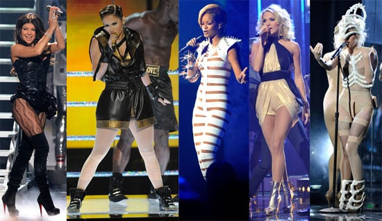 Who Was the Most Over-the-Top on the AMA Stage?