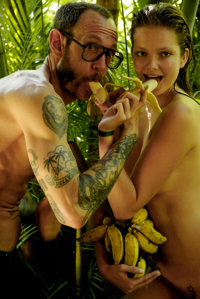 Terry Richardson and Eniko Mihalik Go Bananas