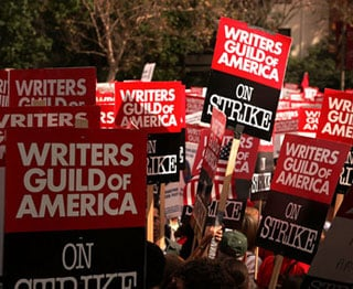 Sugar Bits — New Contract Presented to Striking Writers