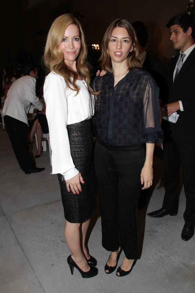 Leslie Mann and Sofia Coppola