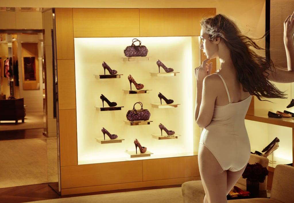 The Seductive Shoe Shopper