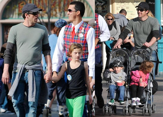 Photos of Patrick Dempsey at Disneyland With Jillian, Tallulah, Sullivan and Darby