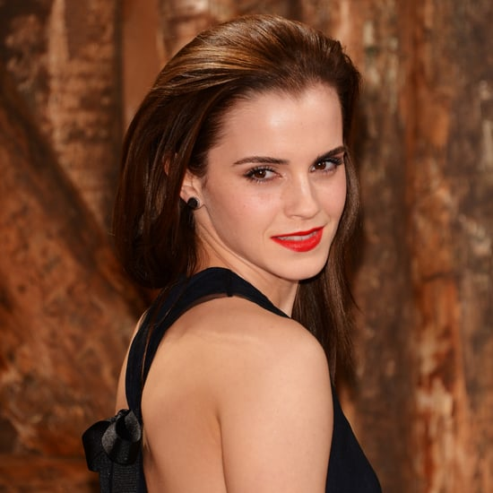 Emma Watson's Hair at Noah Premiere