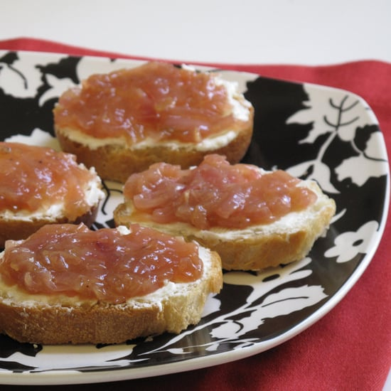 Onion Jam and Goat Cheese Crostini Recipe