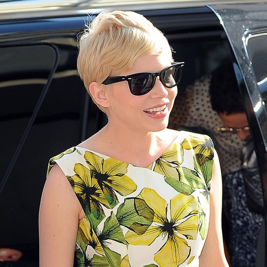 Michelle Williams Pictures at CBS This Morning