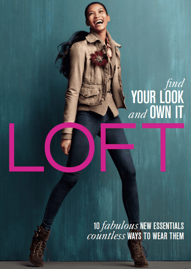 Ann Taylor Loft Fall 2010 With Chanel Iman