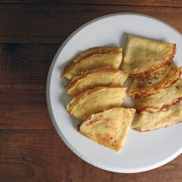 Julia Child's Crepe Recipe