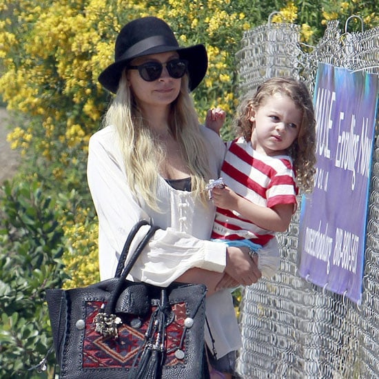 Nicole Richie and Harlow Madden Check Out the Malibu Fair Pictures
