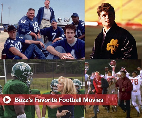 Sugar Shout Out: Buzz's Favorite Football Movies