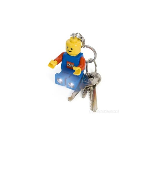 Lego Super Bright LED Key Flashlight