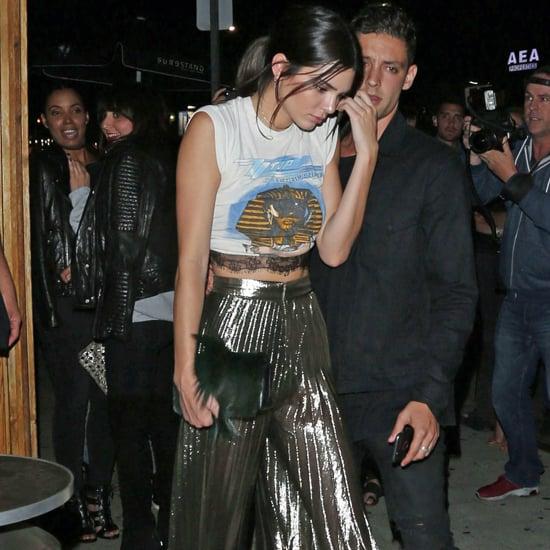 Kendall Jenner's Party Pants Instagram June 2016