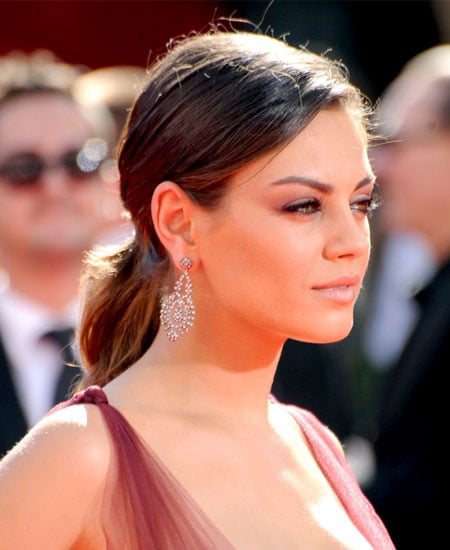 Pictures of Mila Kunis's Ponytail at the 2009 Emmys