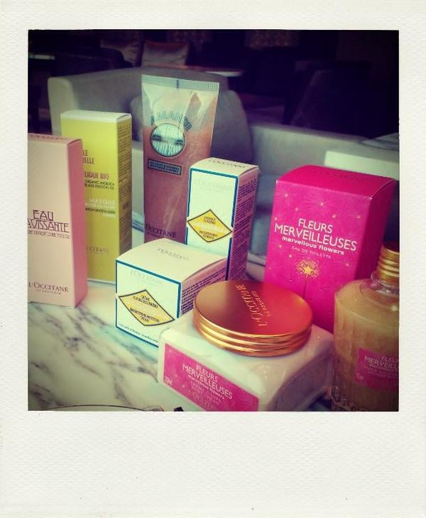 The goodies Zoe from L'Occitane kindly passed on. Love holiday season launches, everything is so festive!