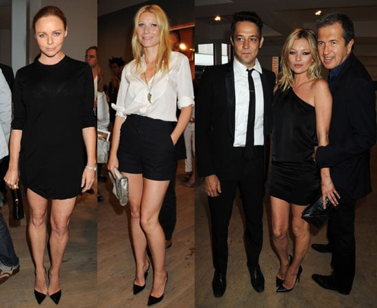 Pictures of Kate Moss, Jamie Hince, Gwyneth Paltrow, Stella McCartney at Mario Testino Kate Who Exhibition