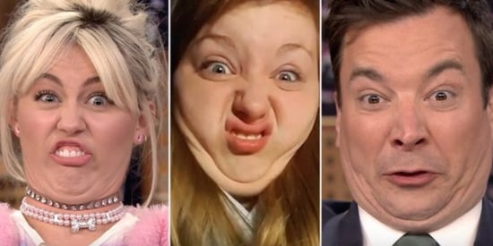 Miley Cyrus Proves Her Funny Faces Can't Be Tamed