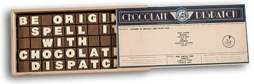 Let the Chocolate Do the Talking