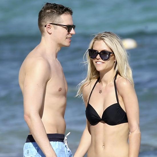 Jason Kennedy and Lauren Scruggs Honeymoon Pictures