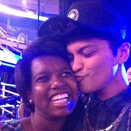 Bruno Mars Sings to Zumyah Thorpe | Video