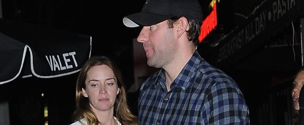 Emily Blunt Goes Casual For a Sweet Date Night With John Krasinski