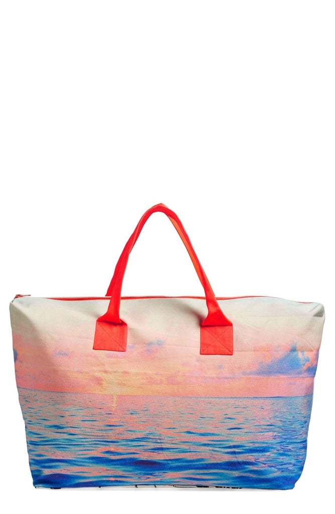 Samudra 'Lagoon Sunsets' Canvas Weekend Bag ($165)