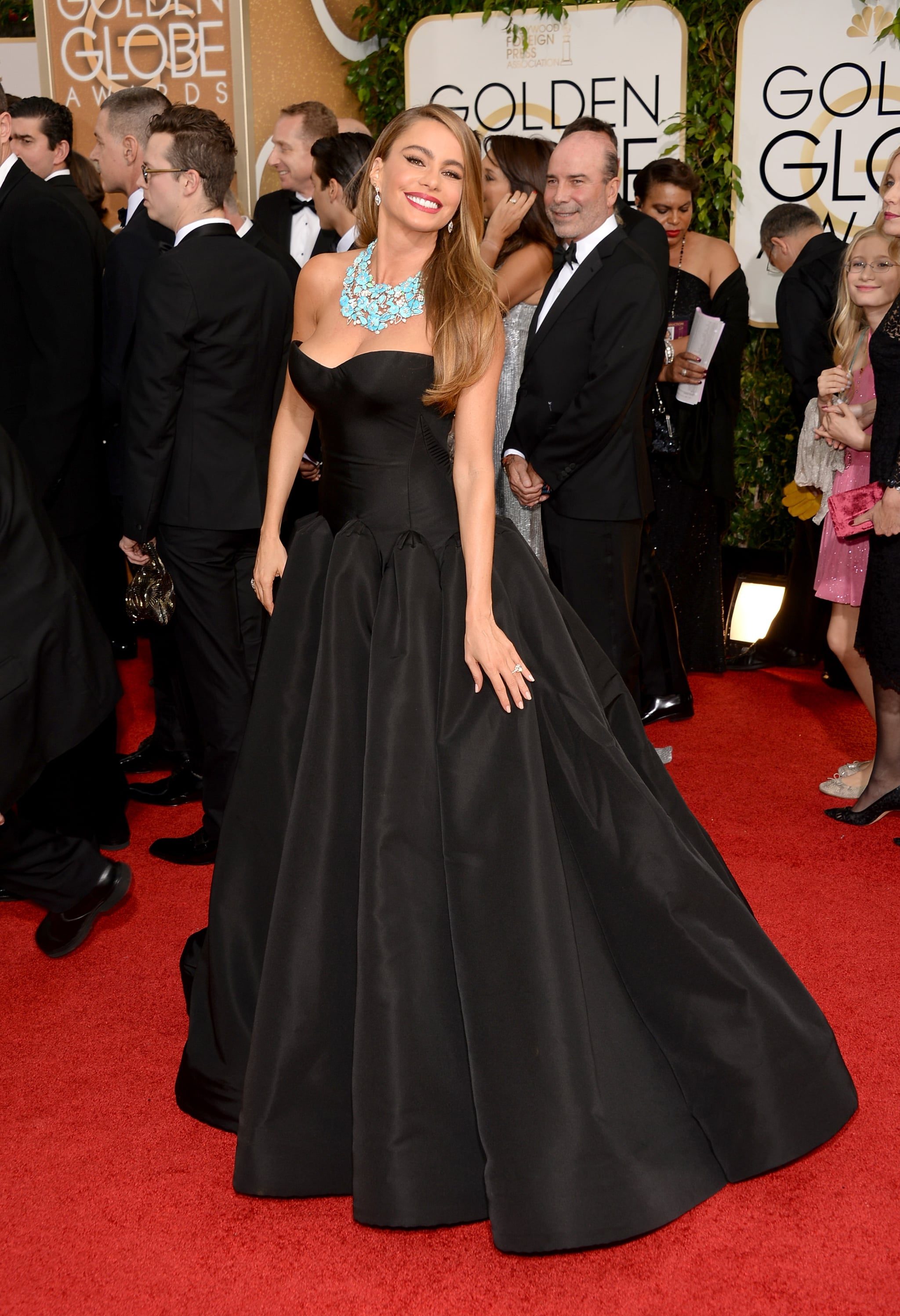 Sofia Vergara in Zac Posen