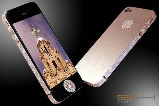 Diamond iPhone 4 From Stuart Hughes