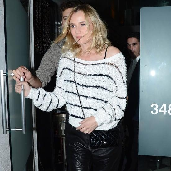 Diane Kruger Wearing an Engagement Ring?
