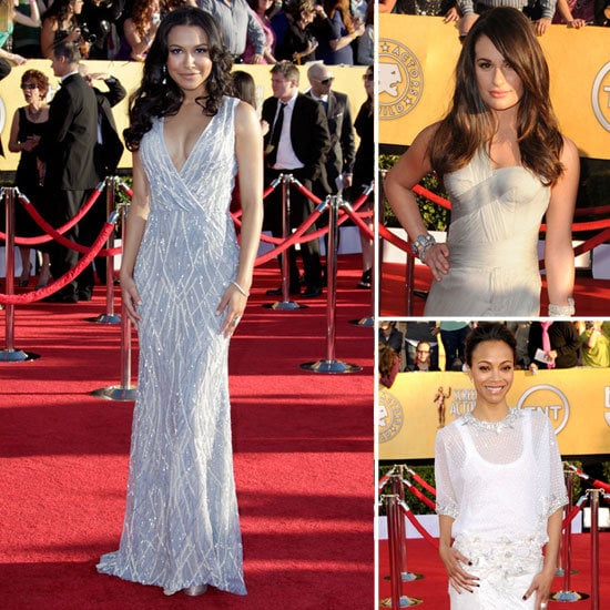 SAG Awards Trend Report: Standout Gray and Silver Gowns