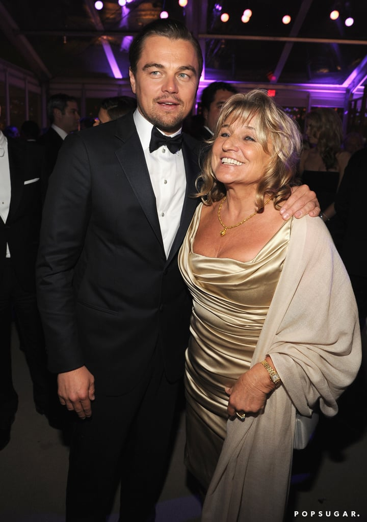 Leonardo DiCaprio partied with his mom, Irmelin Indenbirken.