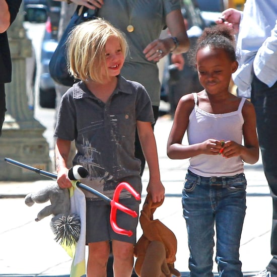 Shiloh Jolie-Pitt and Zahara Jolie-Pitt Summer Clothing Picture