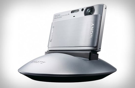 Sony's Party-Shot Camera Dock Takes Photos So You Don't Have To