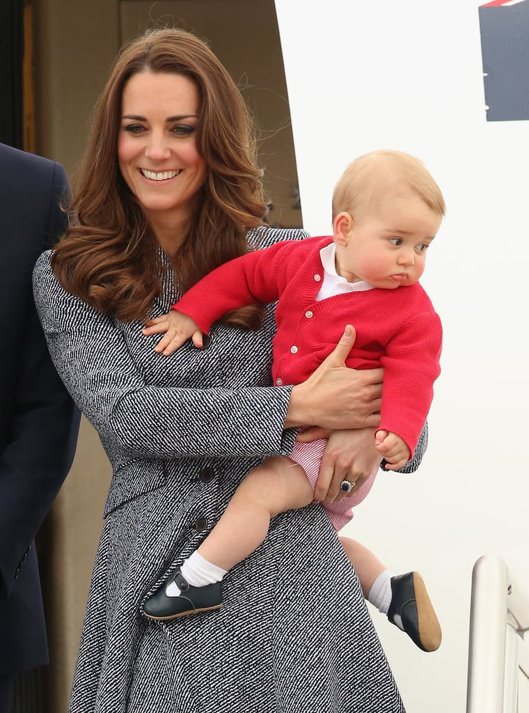 """""""Georgie, Please Stop Squirming During the Photo Op. It's Almost Over."""""""