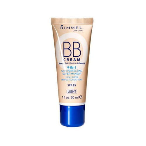 Typically you have to make a choice in drugstore aisles: sunscreen or foundation. Rimmel London BB Cream SPF 25 ($7) is both! And it will cost you much less than other alphabet creams on the market.