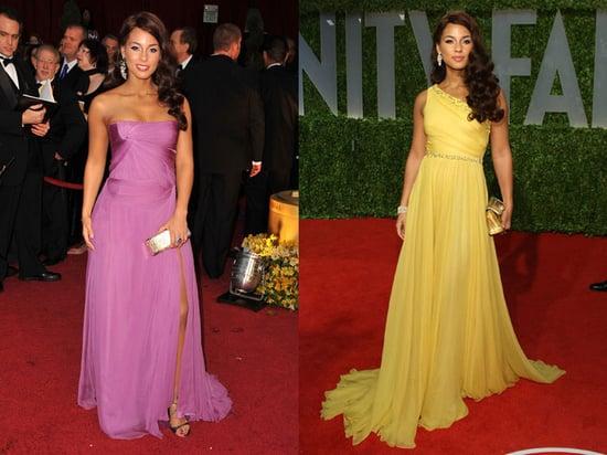 Alicia Keyes' Oscars Dresses