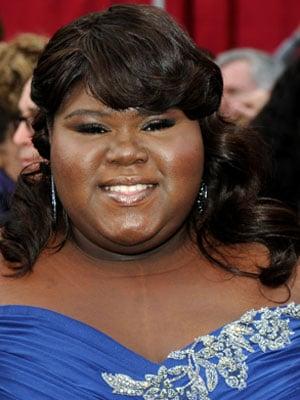 Gabourey Sidibe Oscars 2010: Pictures and Makeup