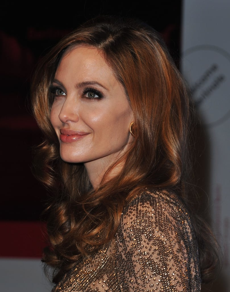 Angelina Jolie at the premiere of In the Land of Blood and Honey.