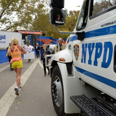 New York City Marathon Security