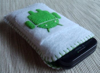 Android Robot Cases for Your T-Mobile G1 and Droid
