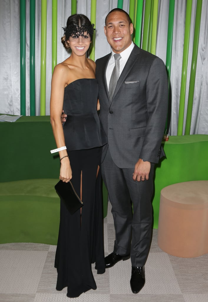 Sara and Geoff Huegill.
